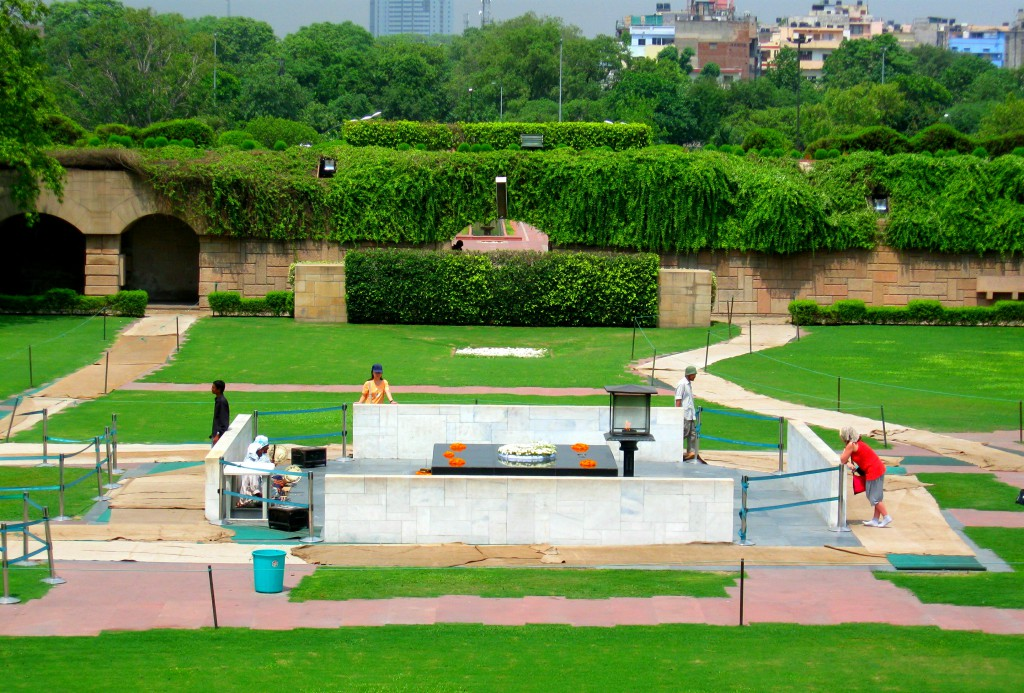 Raj Ghat, Ghandi Memorial - Highlights Delhi