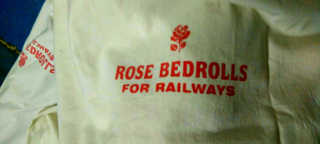 Rondreis India, beddegoed trein