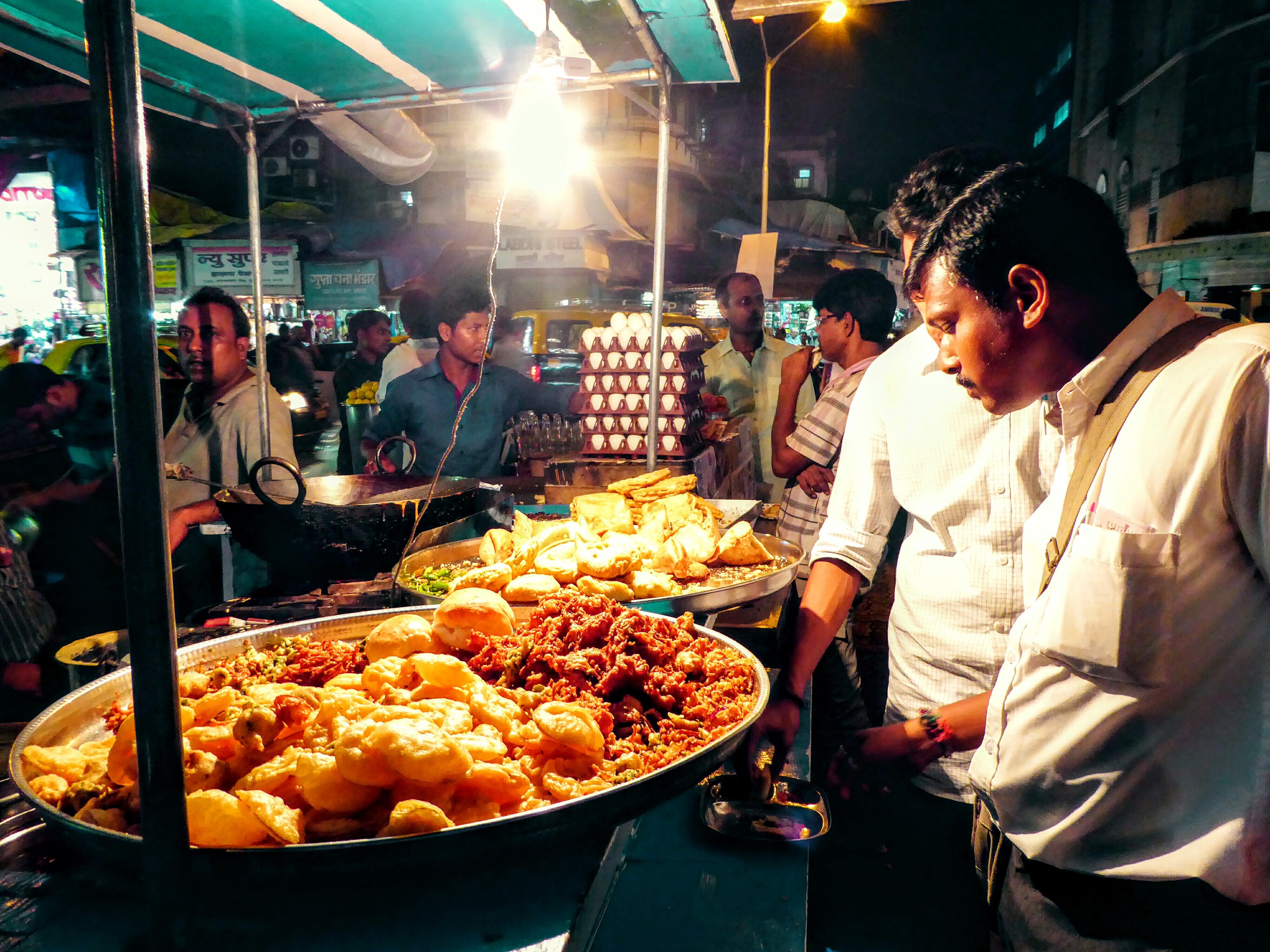 Streetfood Cultuur Mumbai