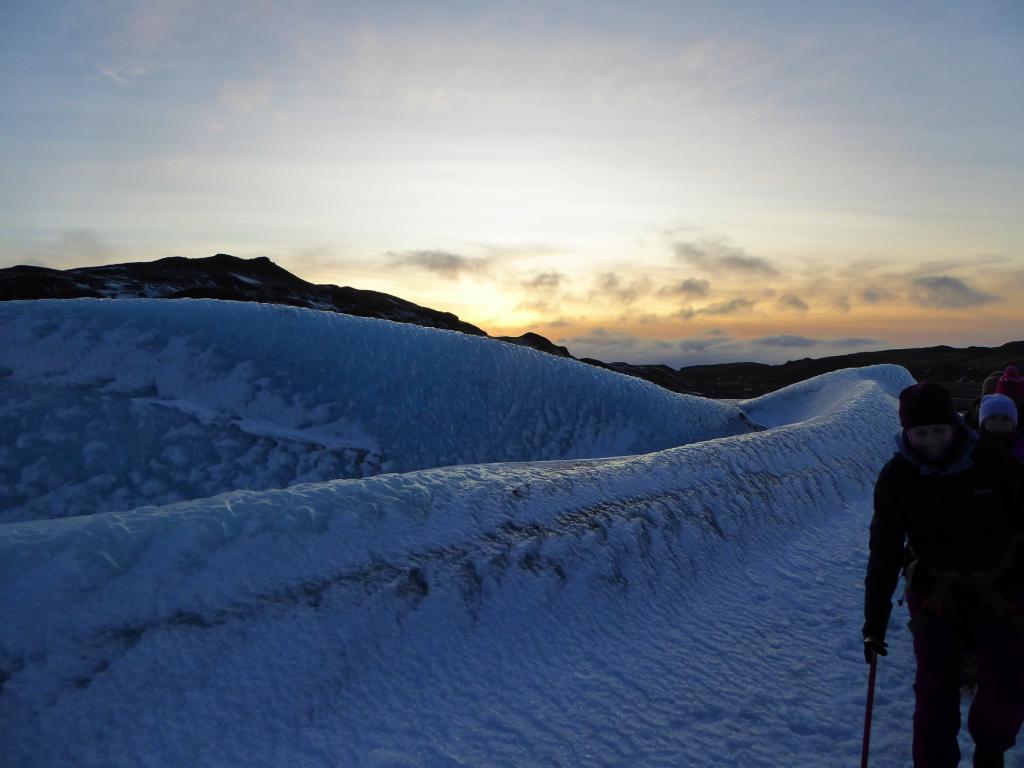 Solheimajokull beklimmen