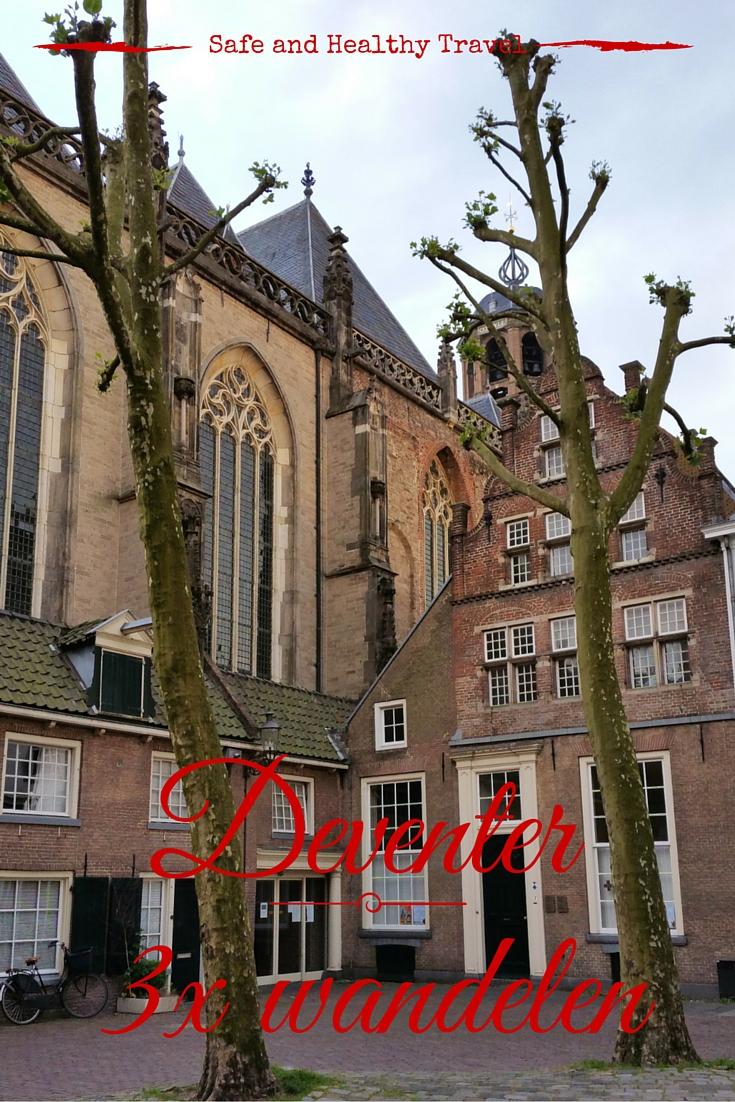 Deventer - 3x wandelen