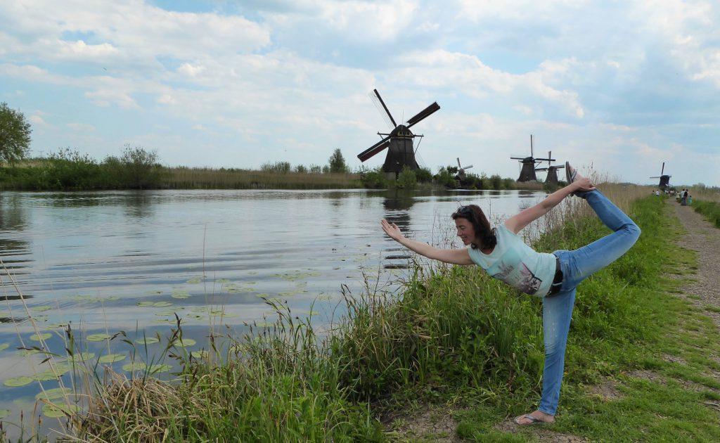 Kinderdijk - Nederland - Yoga