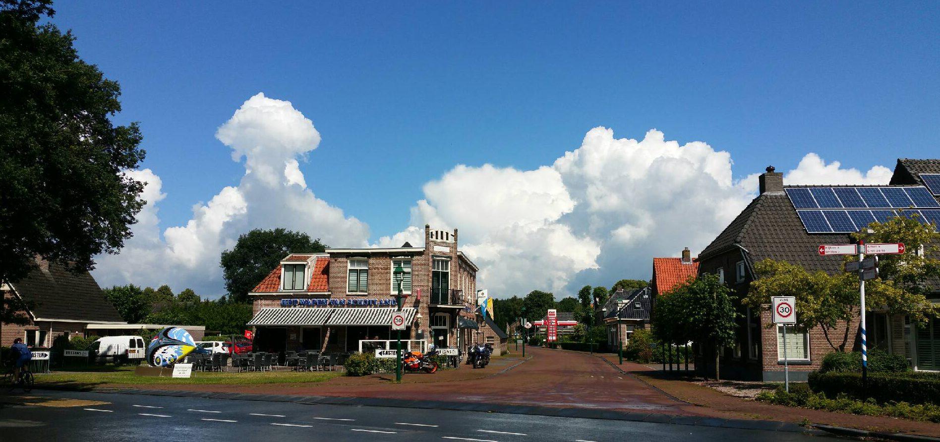Knapzakroute K40 Hooghalen - Drenthe