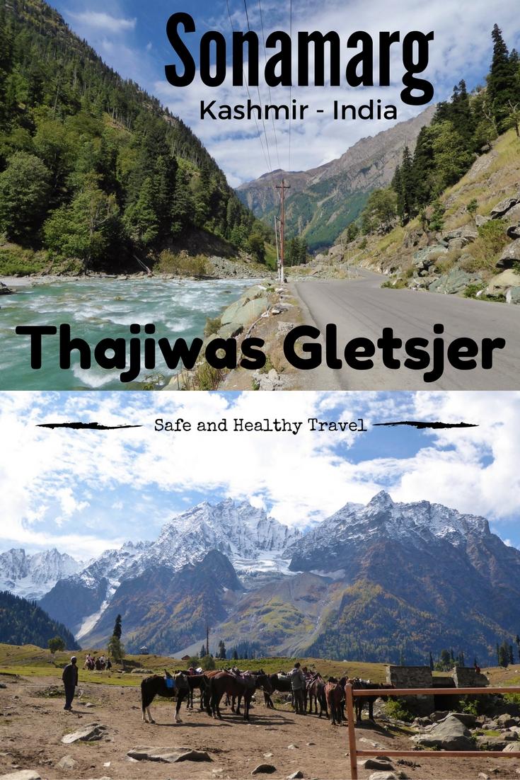 Sonamarg Gletsjer, India