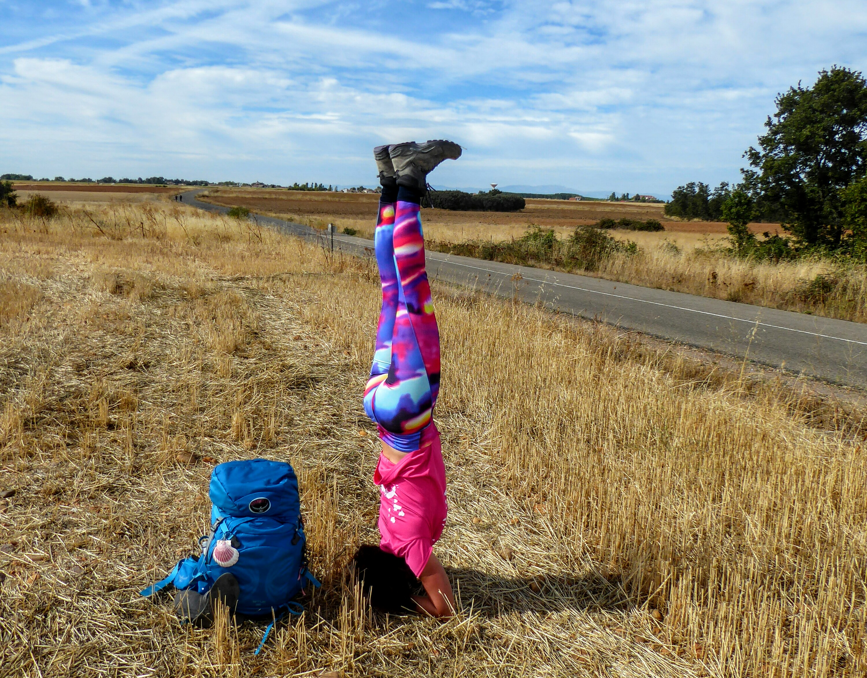 Yogaposes on the Camino