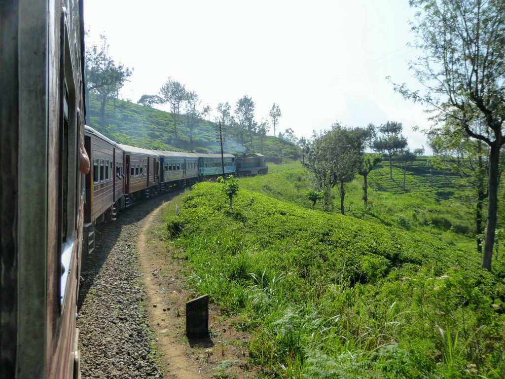 Trainride Sri Lanka
