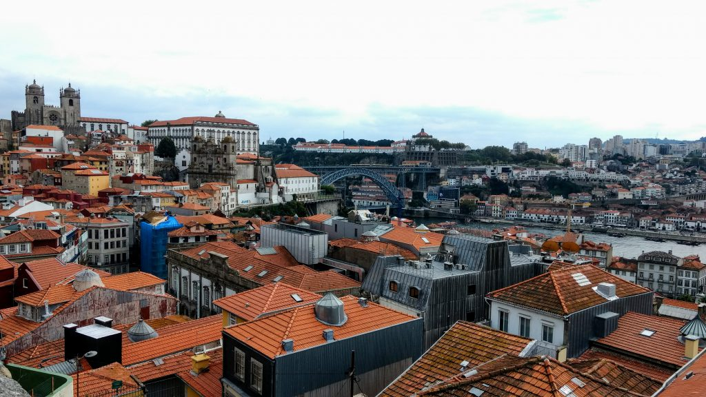 River Douro - Porto - Portugal - Panorama in Porto