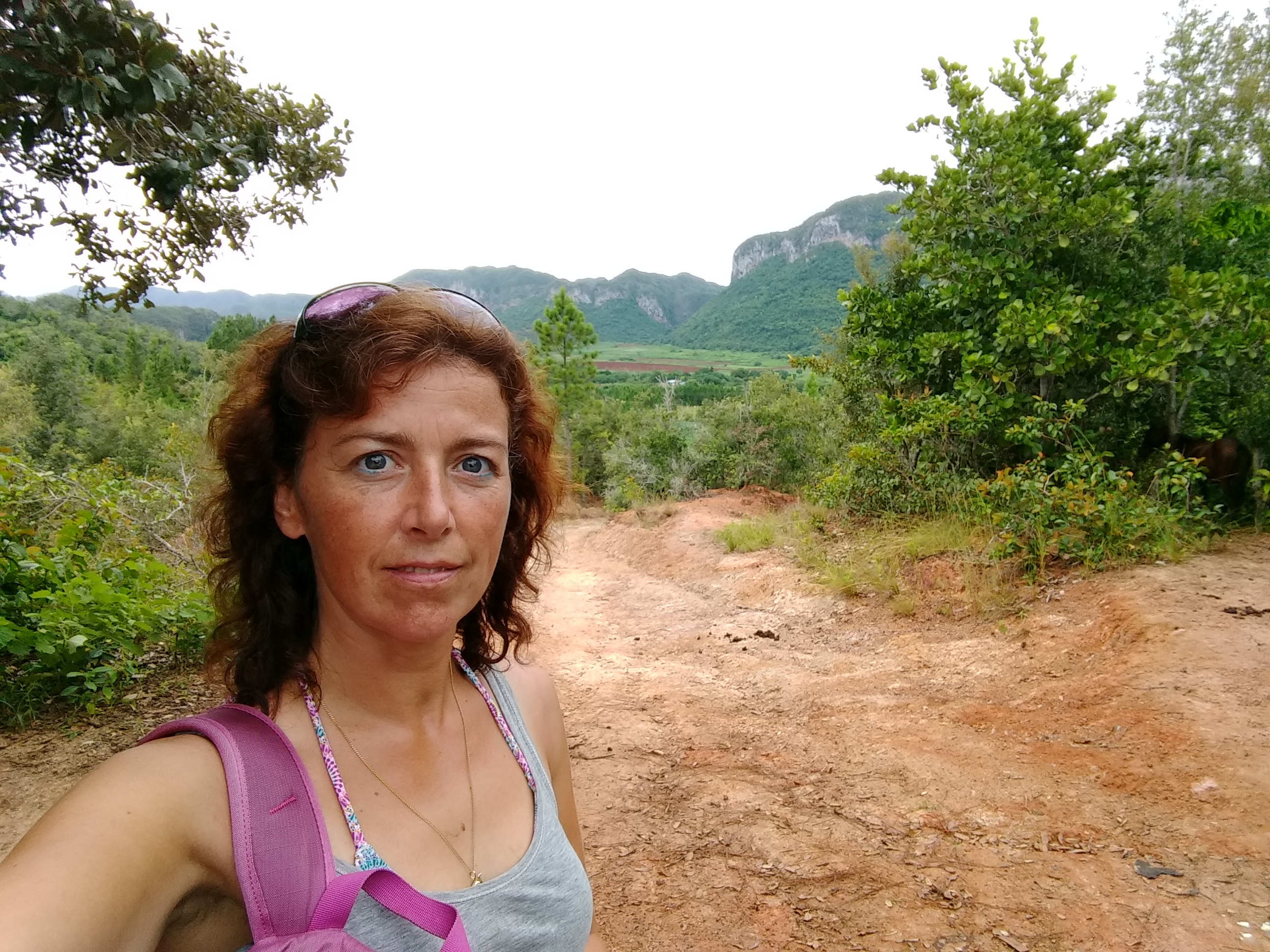 Cuba, Hiking in Valle Vinales