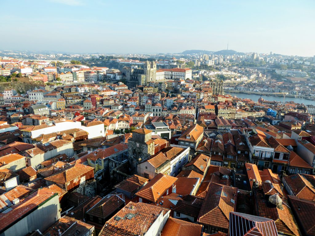 Clerigos Tower - Porto - Portugal - Panorama in Porto