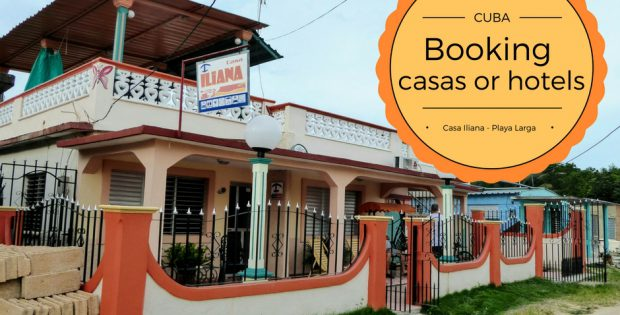 Have you thought about what to book when you go to Cuba? Going to casas or hotels? Going local or the big concerns.. Local is the best way!