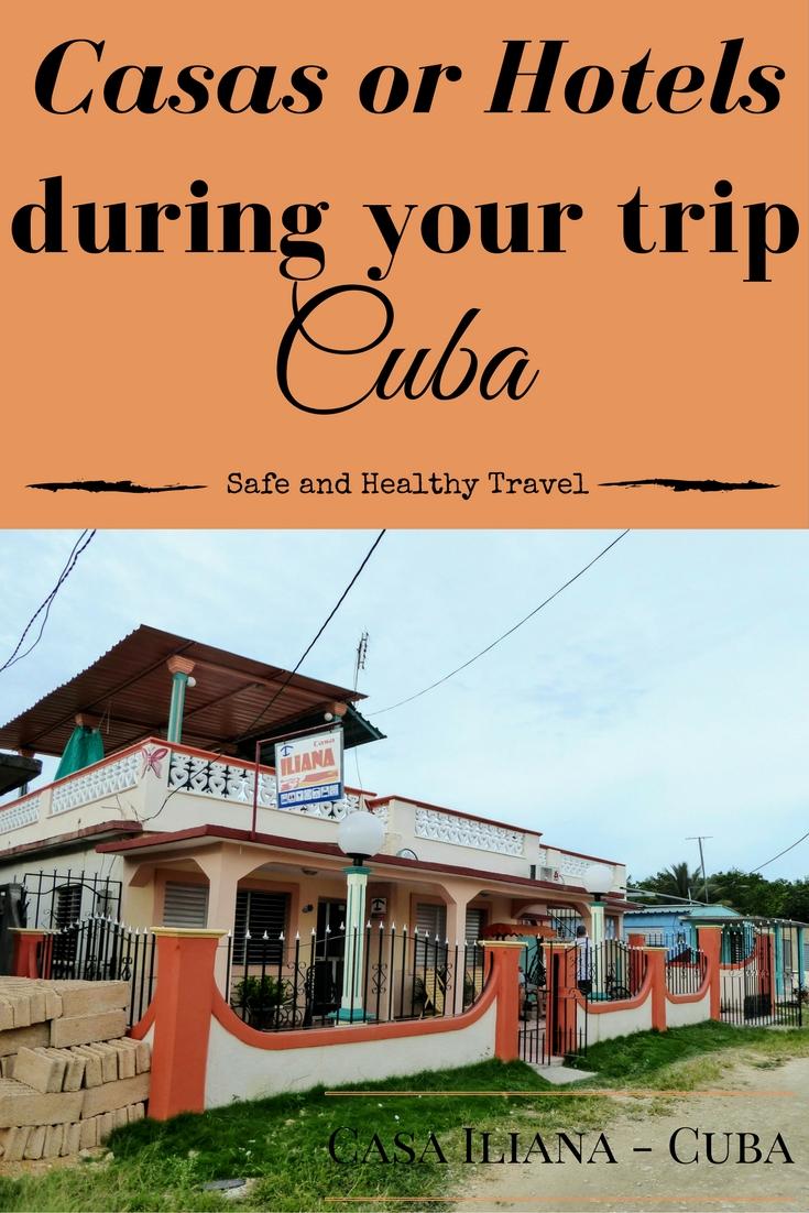 Casas or Hotels - Cuba