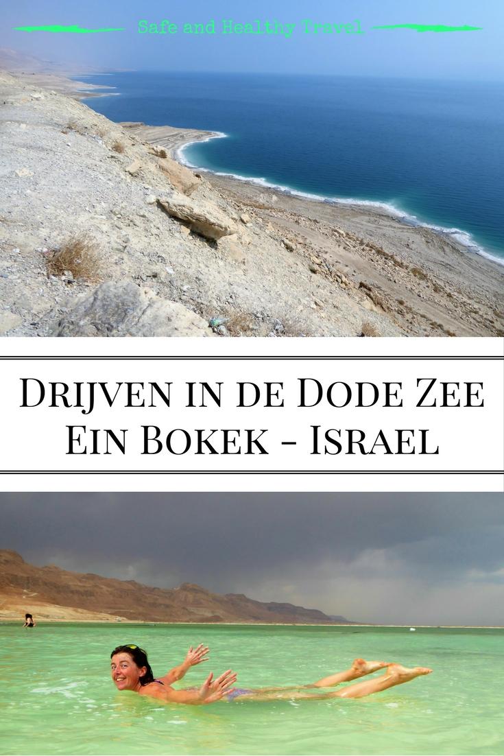 Drijven in de Dode Zee Ein Bokek - Israel