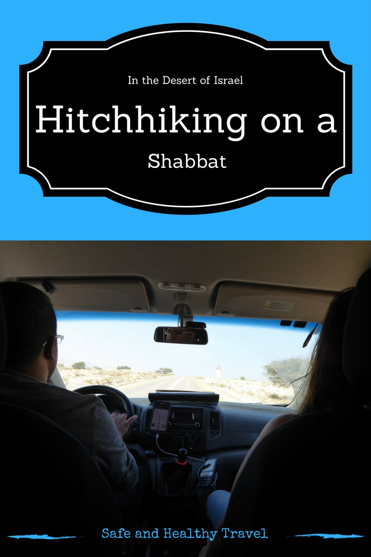 Hitchhiking on a Shabbat in Israel