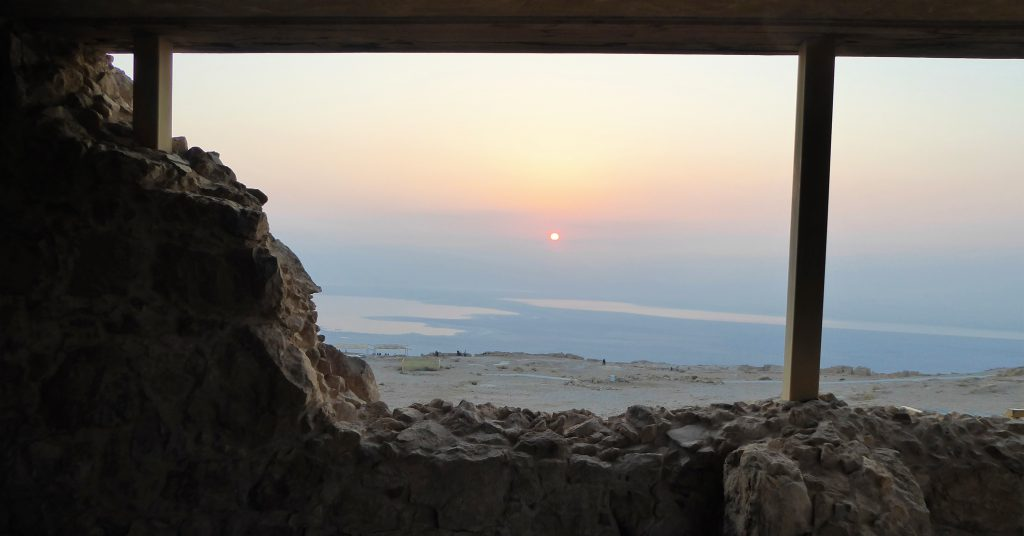 They found a bloodbath on top of Masada - Desert of Israel