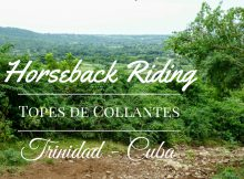 Horseback riding - Topes de Collantes