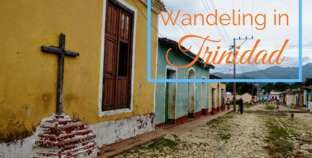 Wandeling in Trinidad
