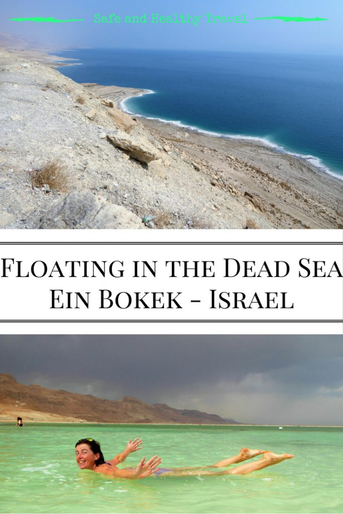 Floating in the Dead Sea - Ein Bokek, Israel