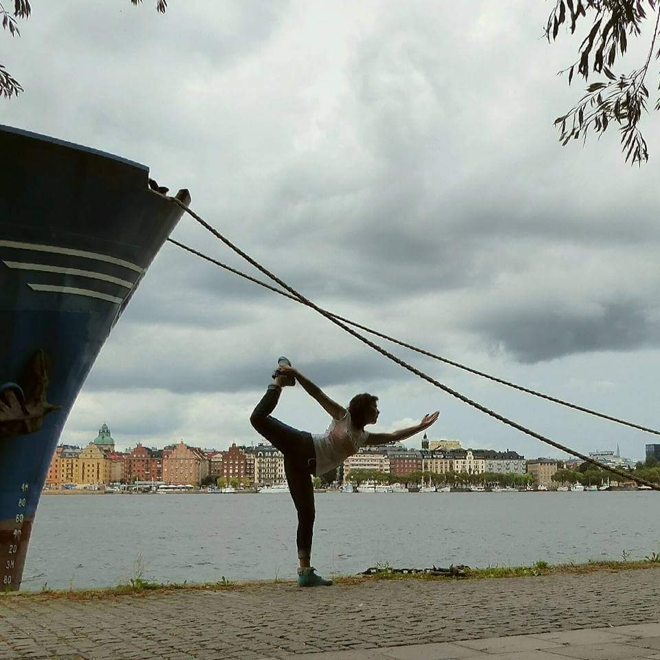 Yoga Pose - Sweden