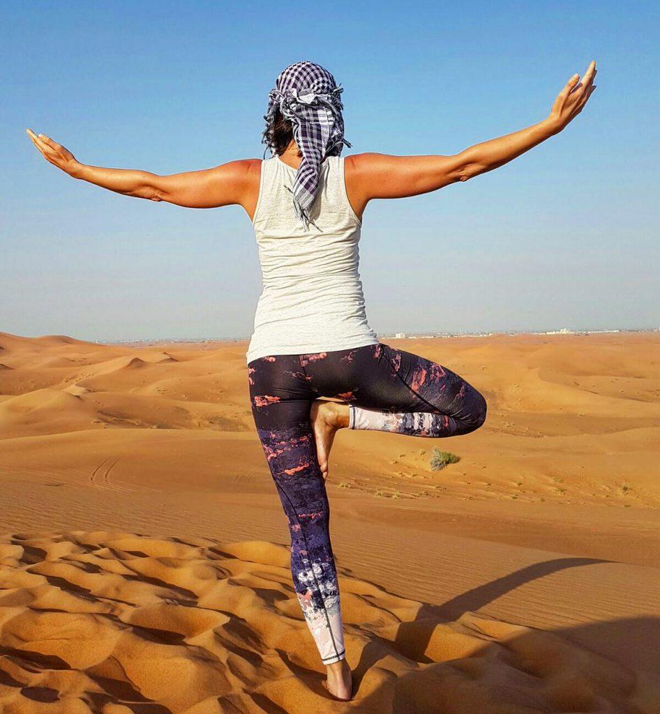 Yoga Pose - Desert
