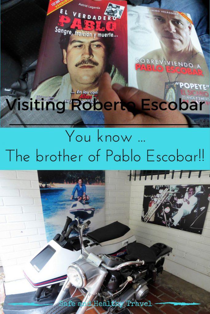 Visiting Roberto Escobar