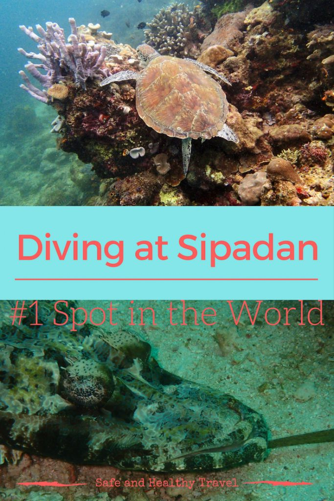 Diving at Sipadan