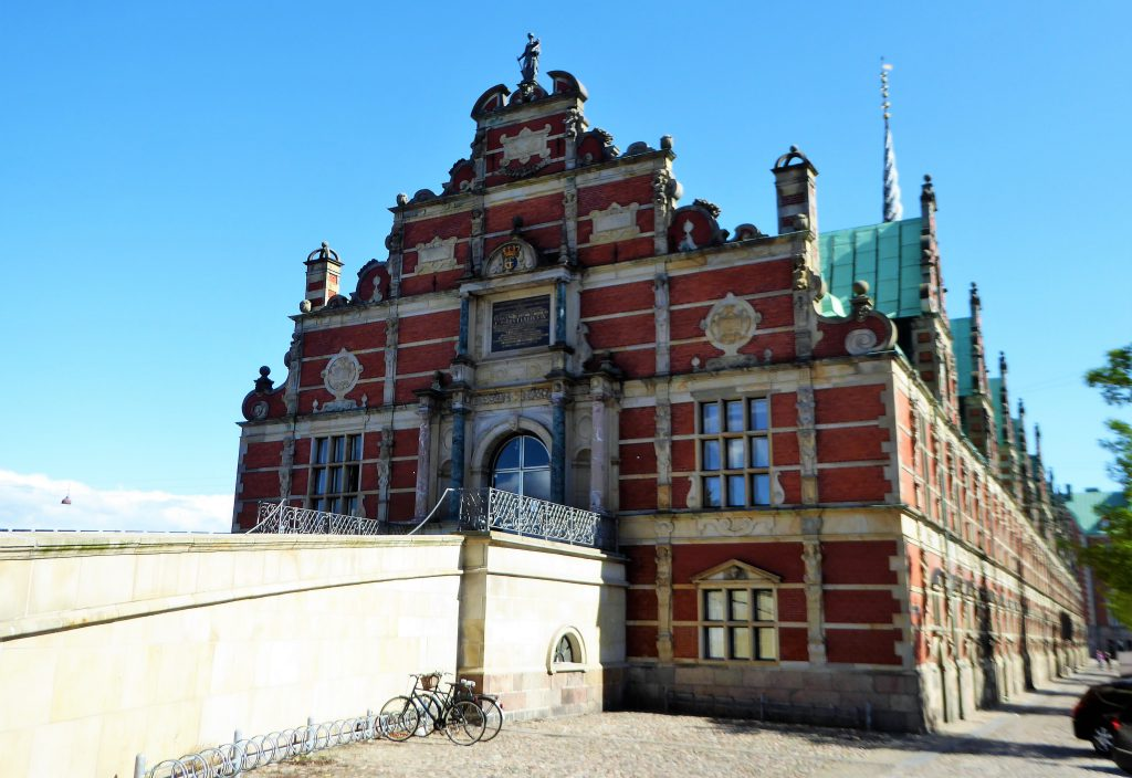 A Walk along the Sights of Copenhagen. Denmark