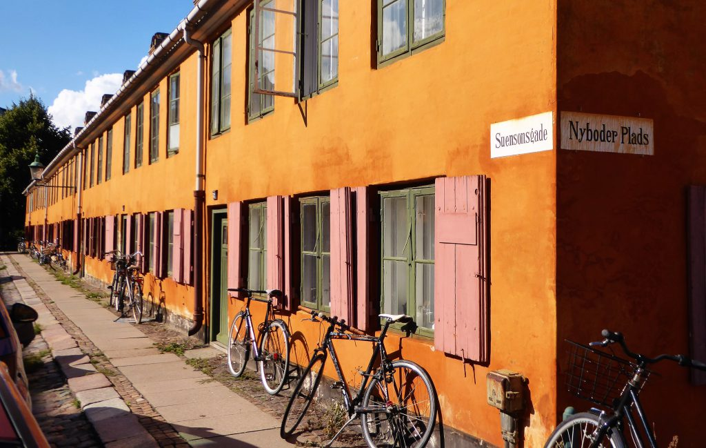 A Walk along the Sights of Copenhagen