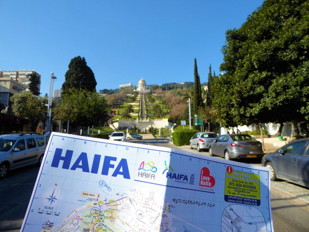 1000 steps of Haifa