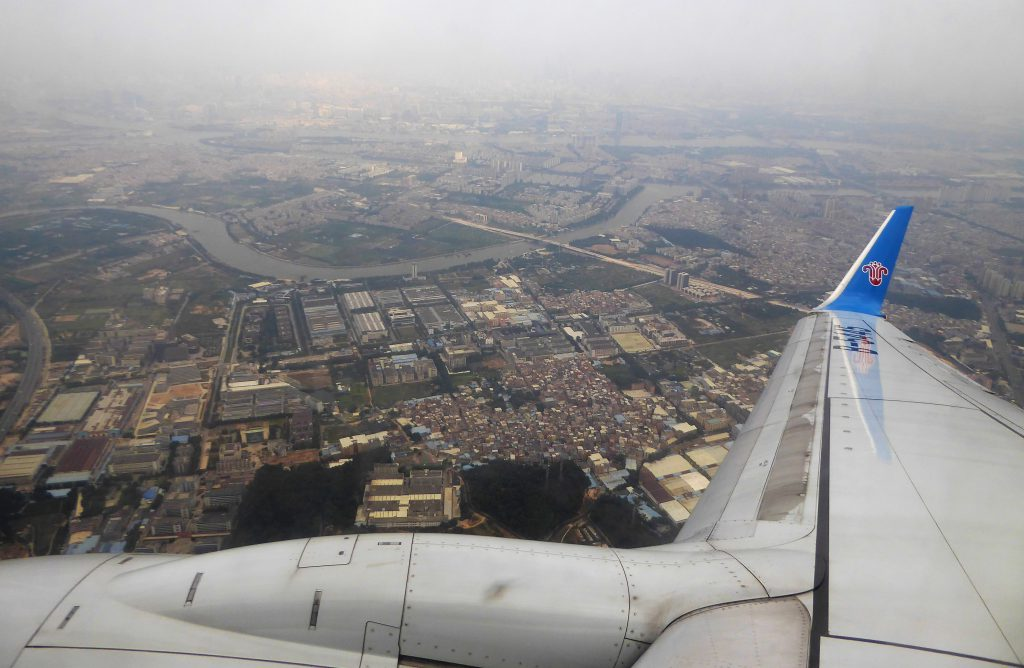 Lange Stop-Over Guangzhou