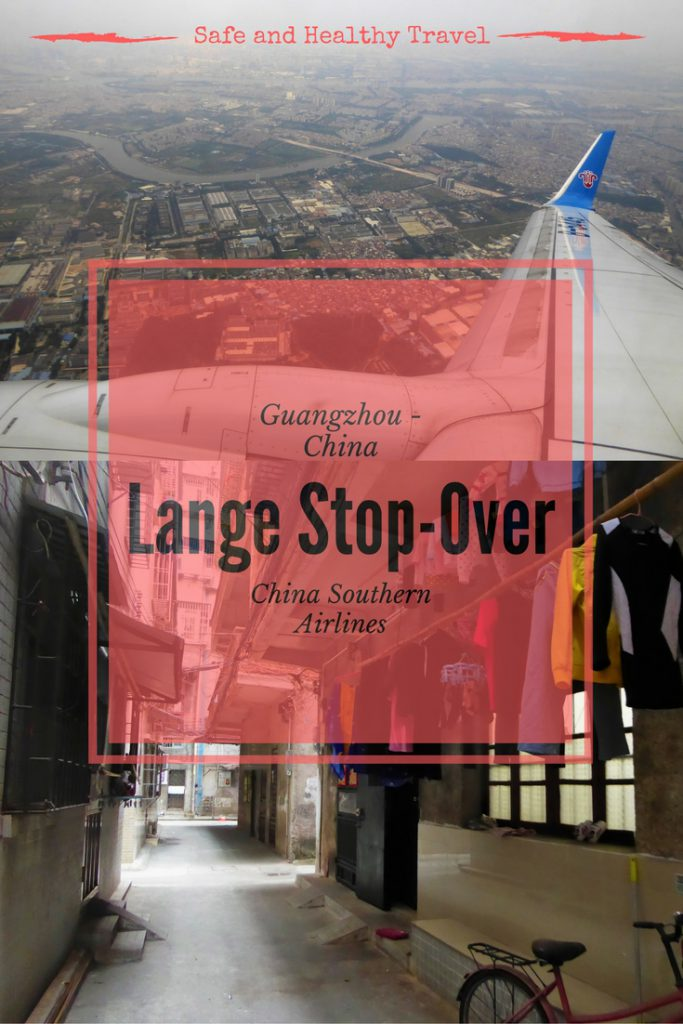 Lange Stop-Over in China
