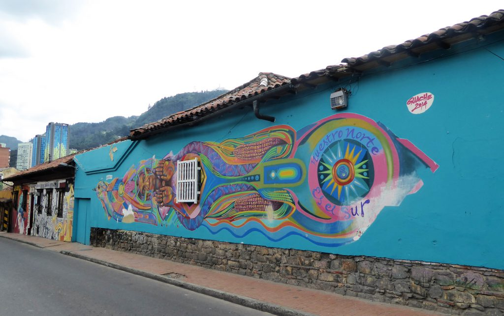 Exploring Bogota by foot, by bicycle & from high above!!
