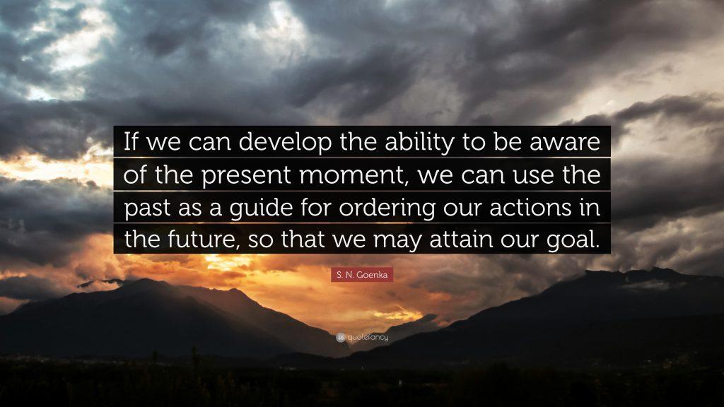 De lessen die ik eerder leerde - Vipassana