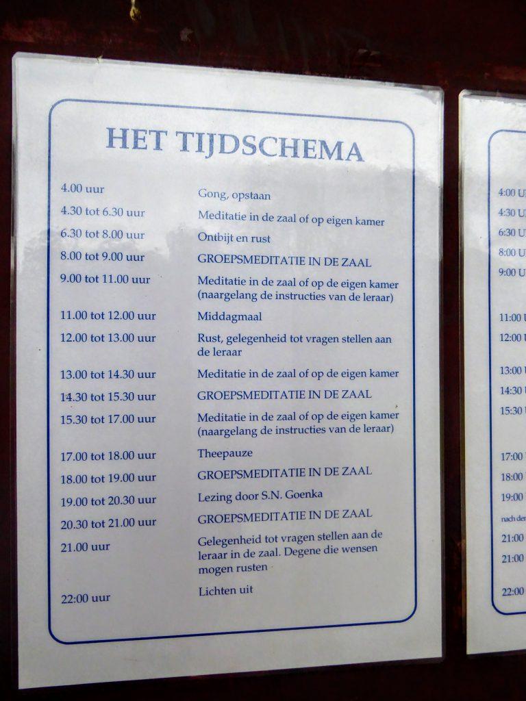 Vipassana 2.0 - Dhamma Pajjota, Belgium