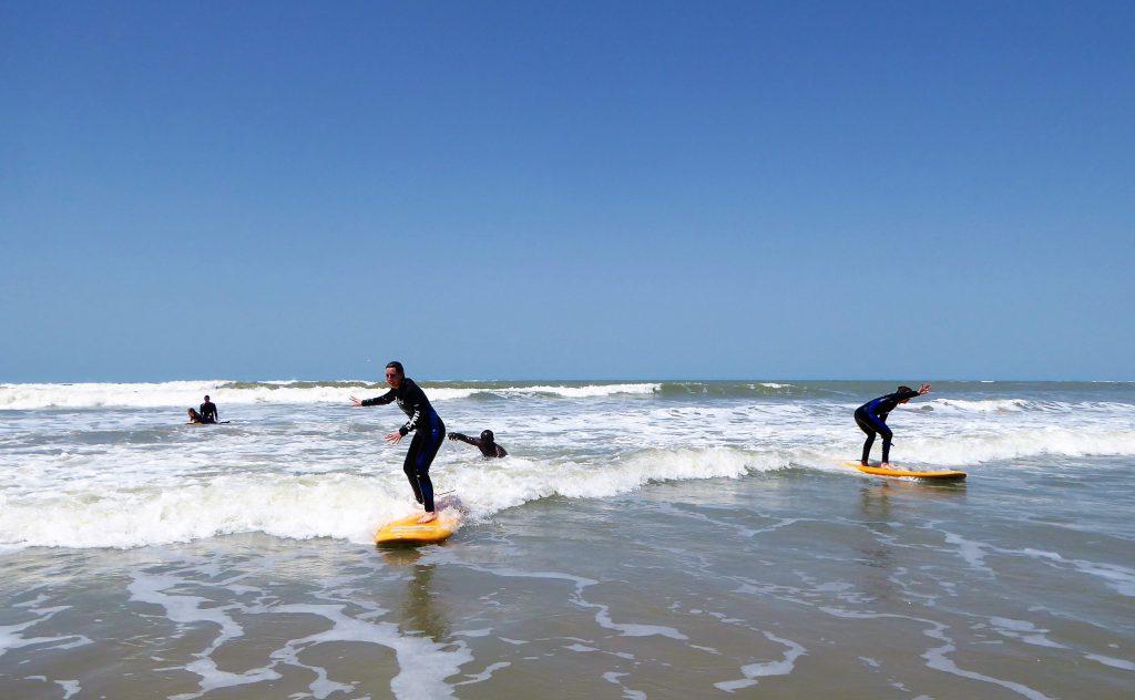 Surfen in Kartong - Gambia