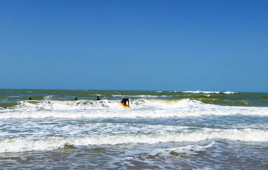 Surfing the Waves of Kartongg - Gambia