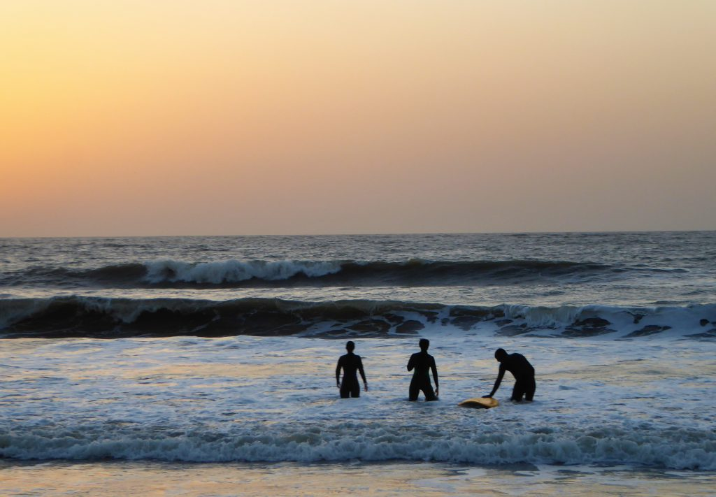 Surfing the Waves of Kartong - Gambia