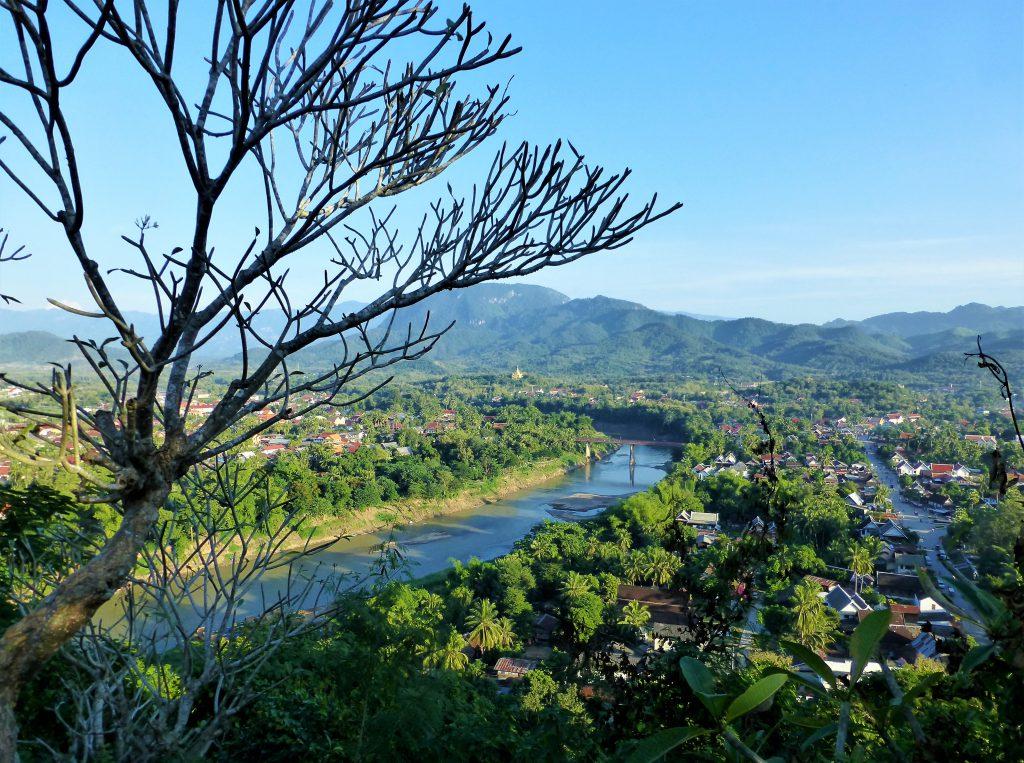 Mooiste zonsondergang van Luang Prabang
