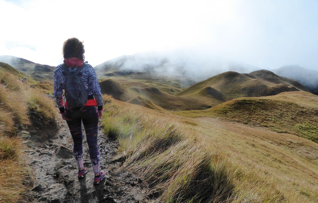 Hiking to the Summit of Mt Pulag