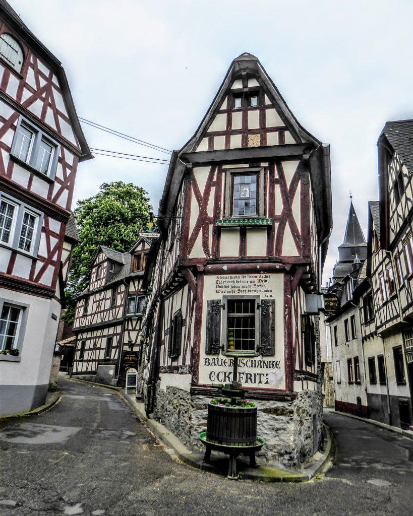 Hiken op de Rheinsteig - Koblenz, Duitsland