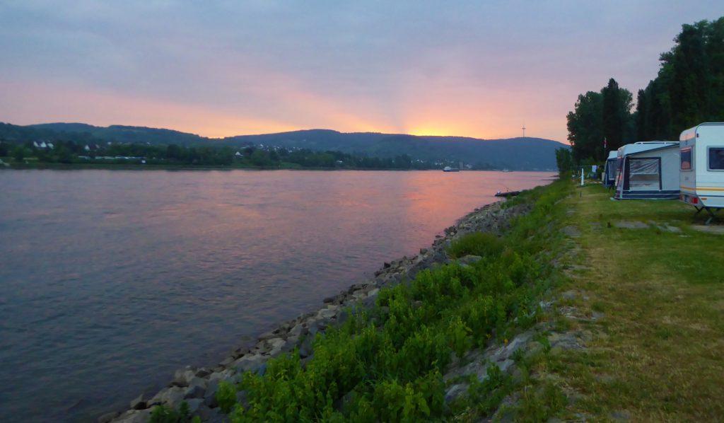 De etappe Braubach - Koblenz