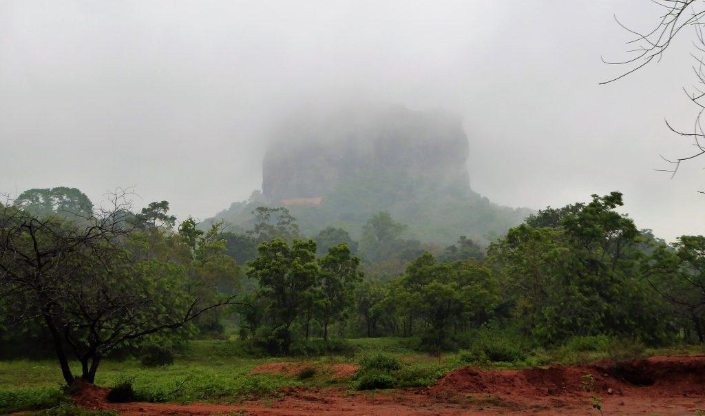 Sigiriya, climbing Lion Rock - Sri Lanka