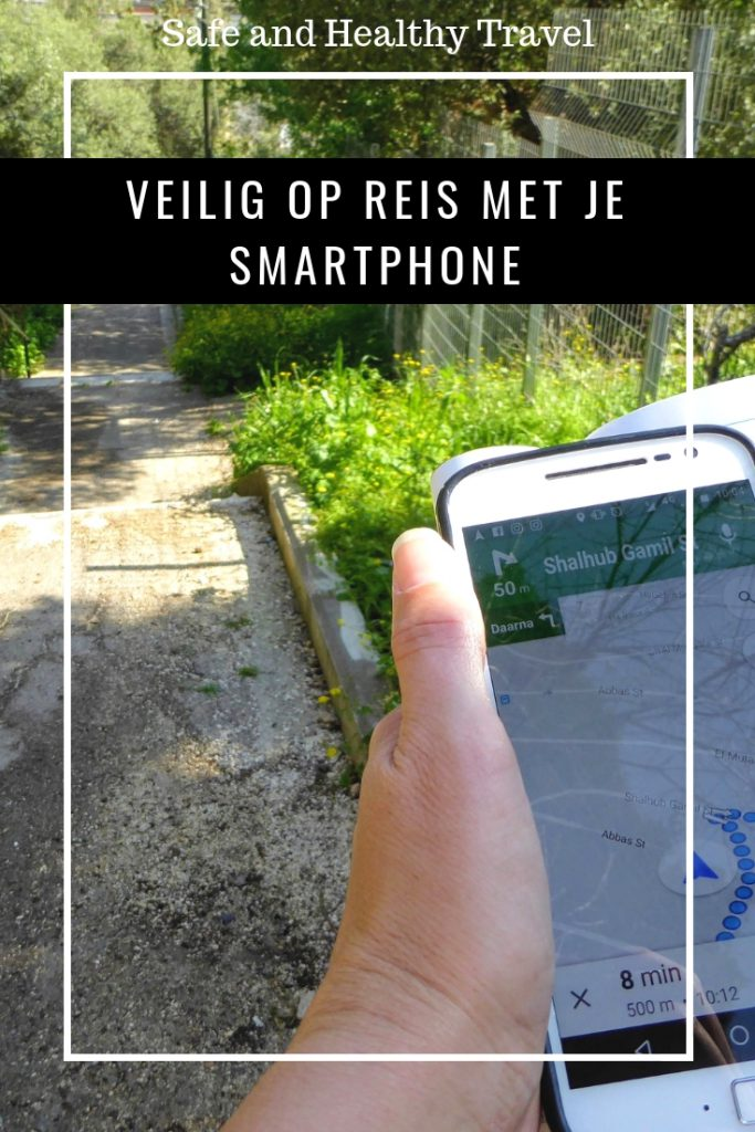 Veilig op reis met je smartphone
