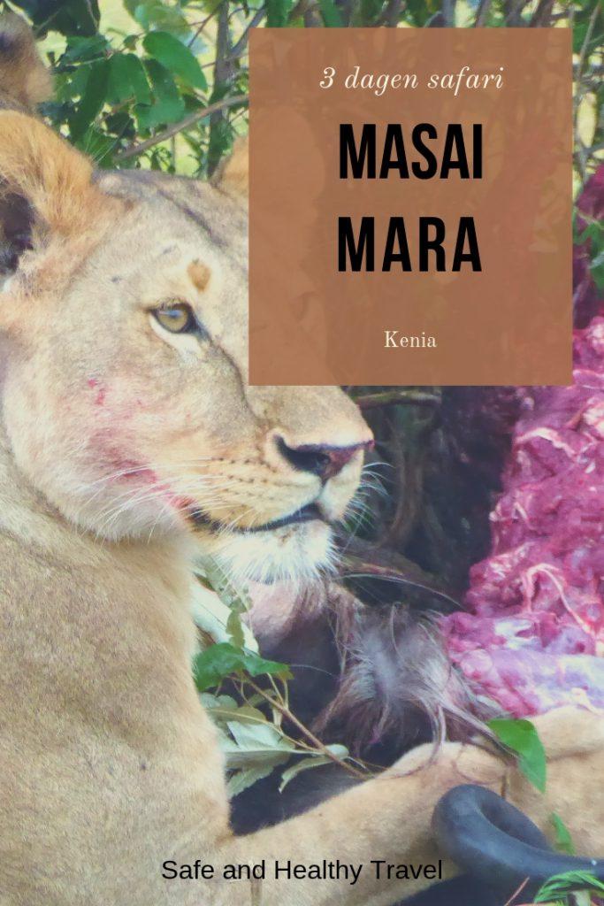 3 dagen safari masai mara kenia