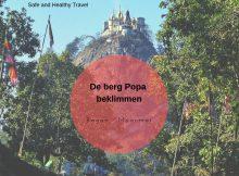 De berg Popa beklimmen