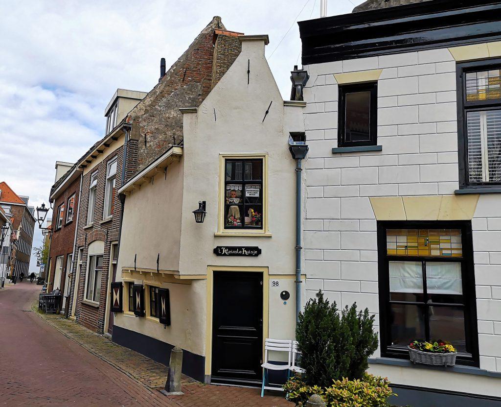 Kleinste huisje van Kampen - Bezoek eens de Hanzestad Kampen