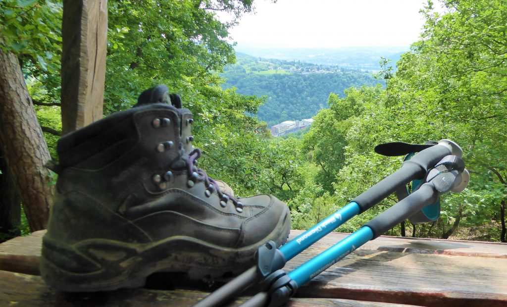 Good Hiking Shoes and Trekkingpoles