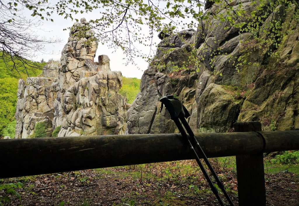 Hiking in Germany - The Hermannshoehen (Hermann Heights) Hiking Trail