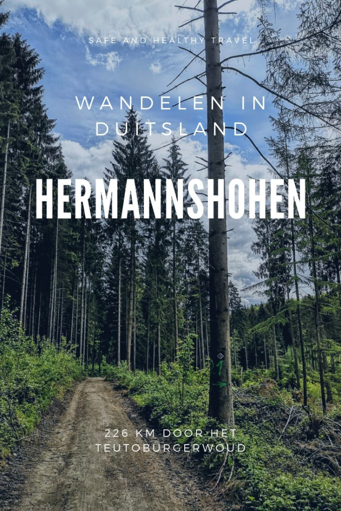 Wandelen in Duitsland - Wandelroute Hermannshohen